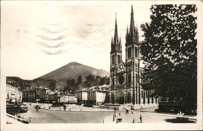 Voiron Eglise Place de la Republique Notre Dame de Vouise Kat. Voiron