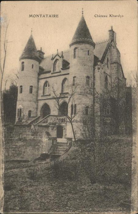 Montataire Chateau Khardys Schloss Kat. Montataire