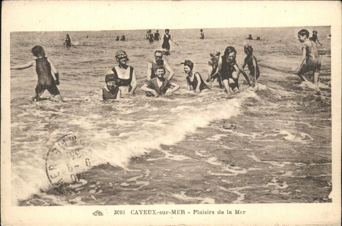Cayeux sur Mer Plaisirs de la Mer Kat. Cayeux sur Mer