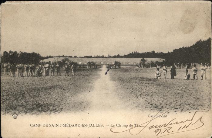 Saint Medard en Jalles Camp de Tie Lager Kat. Saint Medard en Jalles