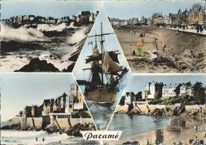 Parame Rochebonne La Digue Plage bateau Kat. Saint Malo