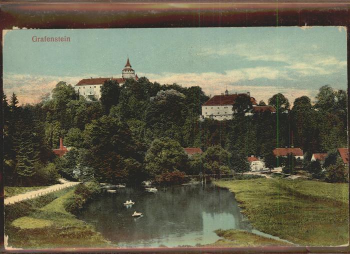 Grafenstein Grottau Burg Grafenstein / Hradek nad Nisou /Liberec