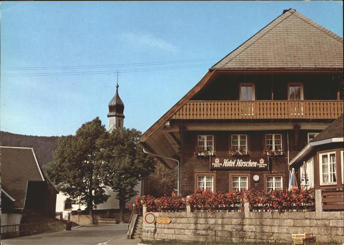 Hotel Hirschen St Blasien