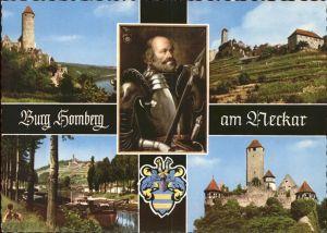 Burg Hornberg Neckar Burg Ritter Goetz Kat. Neckarzimmern