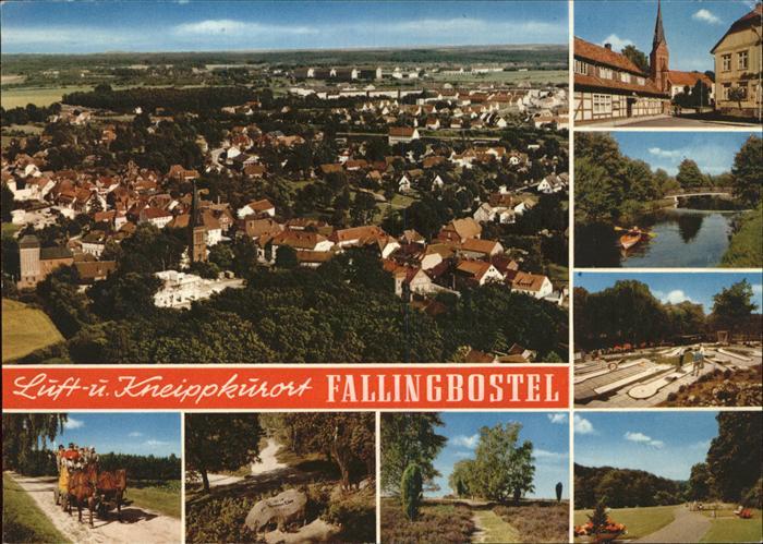 Fallingbostel Luft Kneipport Kutsche Fliegeraufnahme Kat. Bad Fallingbostel