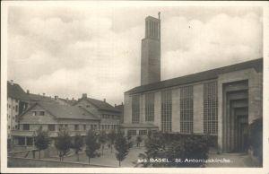 Basel BS St. Antoniuskirche Eglise Kat. Basel