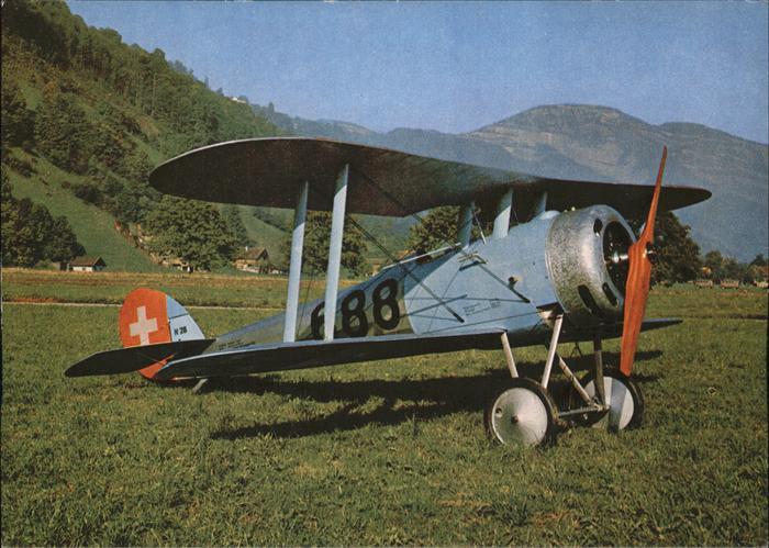 Flugzeuge Zivil Nieuport 28.C. Bebe Verkehrshaus Schweiz Luzern / Flug /