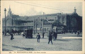 Boulogne sur Mer La Gare central Kat. Boulogne sur Mer