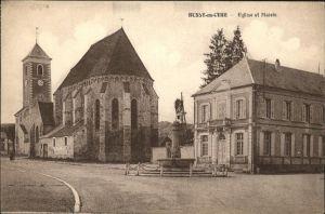Bussy en Othe Eglise et Mairie Kat. Bussy en Othe