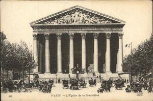 Paris Eglise de la Madeleine Kat. Paris