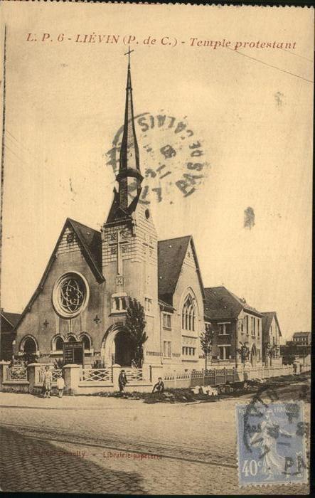 Lievin Temple protestant Kat. Lievin