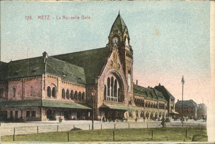 Metz Moselle La Nouvelle Gare Kat. Metz