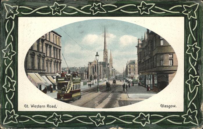 Glasgow Gt Western Road Kat. Glasgow City