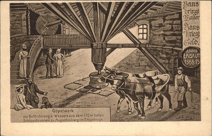 Augustusburg Goepelwerk im Schloss Augustusburg Kat. Augustusburg