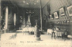 wz94234 Biere VD Salle des Officiers Kategorie. Biere Alte Ansichtskarten