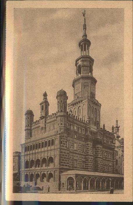 Posen Poznan Rathaus / Poznan /