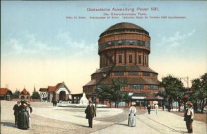 Posen Poznan Oberschlesische Turm Ostdeutsche Ausstellung 1911 / Poznan /