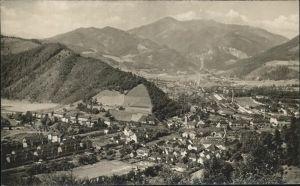 Kapfenberg Panorama mit Gusstahlfabrik Industrie Alpen Kat. Kapfenberg