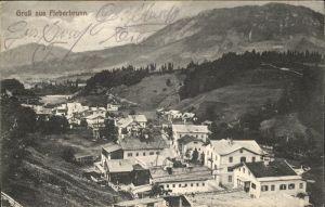 Fieberbrunn Tirol Panorama Kat. Fieberbrunn