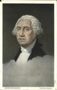 Washington George Gilbert Stuart Portrait Kat. Persoenlichkeiten
