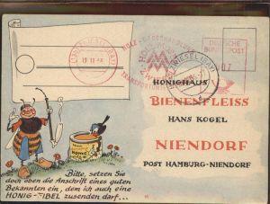 Bienen Insekten Honighaus Bienenfleiss Hans Kogel Niendorf Kat. Imkerei
