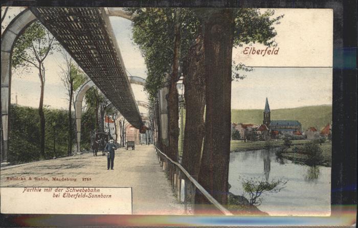 Elberfeld Wuppertal Sonnborn Schwebebahn / Wuppertal /Wuppertal Stadtkreis