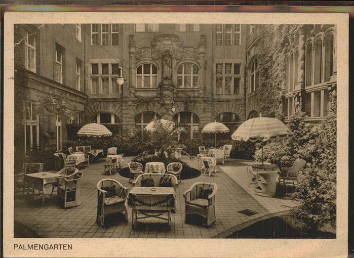 Berlin Palmgarten Kat. Berlin