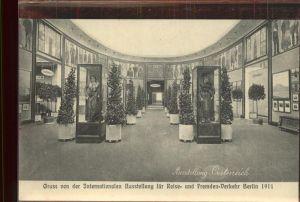 Berlin Intern. Ausstellung fuer Reise  u. Fremden Verkehr Ausstellung oesterreich Kat. Berlin