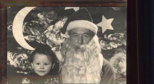 Weihnachtsmann Nikolaus Kind  / Greetings /