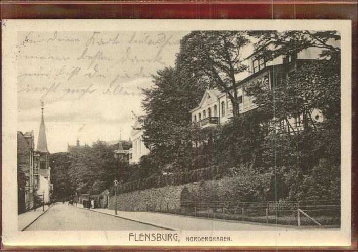 Flensburg Nordergraben Kat. Flensburg