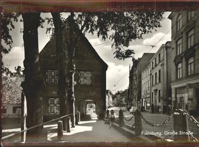 Flensburg Grosse Strasse Kat. Flensburg