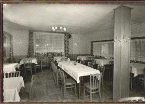 Ganderkesee Gasthaus Backenkoehler Speisesaal Kat. Ganderkesee