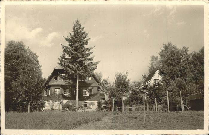Hinterzarten Kinderheim des Bad Roten Kreuzes Kat. Hinterzarten