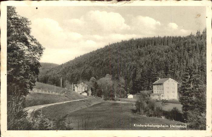 Bonndorf Schwarzwald Kindererholungsheim Steinabad Kat. Bonndorf