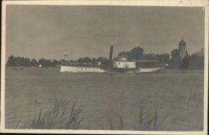 Dampfer Seitenrad Herrenchiemsee Dampfer Luitpold Kat. Schiffe