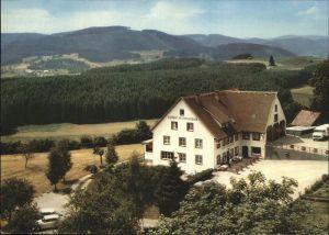 Kappel Lenzkirch Gasthaus Pension Straub Kat. Lenzkirch
