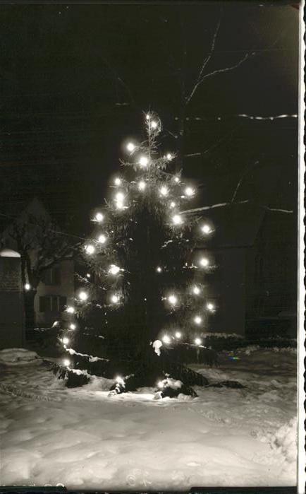 Friedenweiler Weihnachten Christbaum Kat. Friedenweiler
