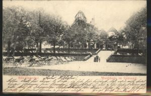 Lindenthal Koeln Waldschenke im Stadtwald / Koeln /Koeln Stadtkreis