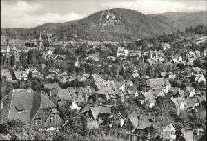 aw05958 Wernigerode Harz Gesamtansicht Kategorie. Wernigerode Alte Ansichtskarten