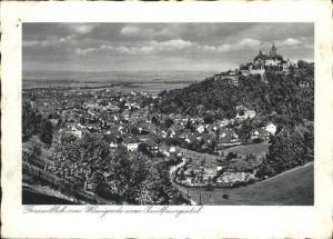 aw05968 Wernigerode Harz Gesamtansicht Kategorie. Wernigerode Alte Ansichtskarten