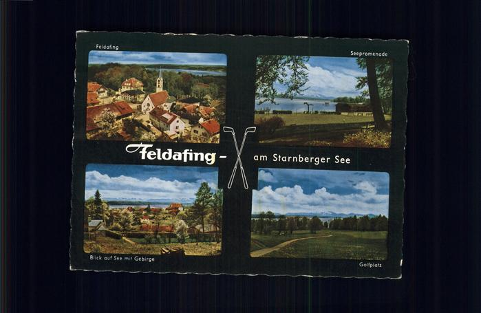 Feldafing Seepromenade Starnberger See Kat. Feldafing