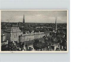 Wien Panorama mit Hochhaus Herrengasse Kat. Wien
