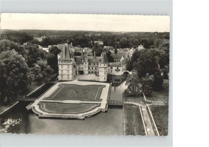Maintenon Chateau vue aerienne Kat. Maintenon