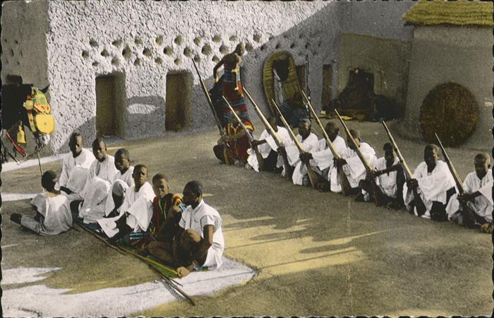 Ouagadougou Les fusiliers du Morgho Naba Kaempfer Kat. Ouagadougou