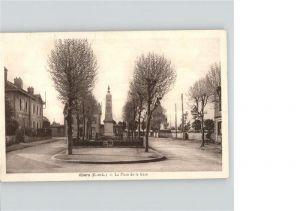 Illiers Combray Place de la Gare Monument Denkmal Kat. Illiers Combray