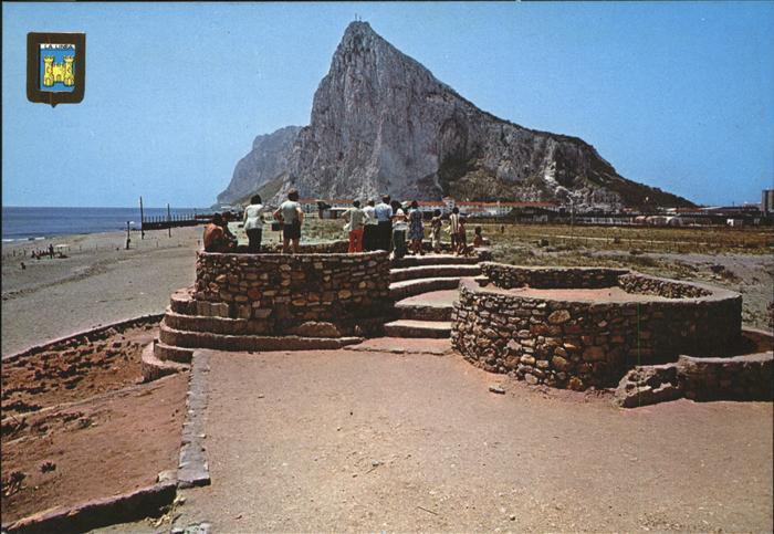 Gibraltar Rock of Gibraltar Kat. Gibraltar