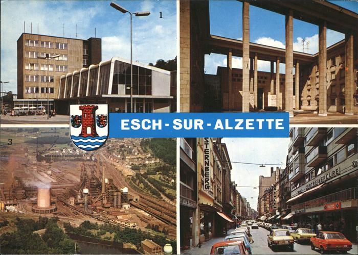 kk31868 Esch Sur Alzette Gare centre Monument Rue Alzette Kat. Esch Sur Alzette