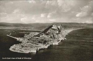 Gibraltar South East view of Rock of Gibraltar Kat. Gibraltar