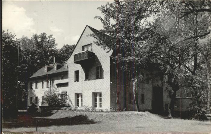 Kienbaum Internationales Gaestehaus Kat. Gruenheide Mark
