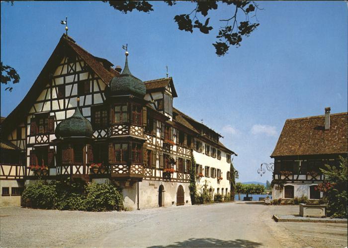 Gottlieben Restaurants Waaghaus und Drachenburg am Untersee Kat. Gottlieben